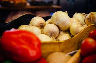 Fresh ingredients in the kitchen